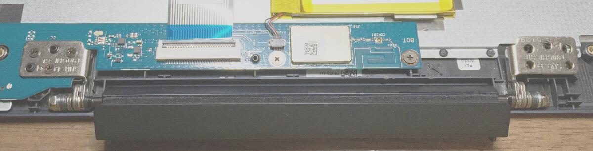キーボード付きタブレットPC(ASUS t90chi)のヒンジを左右逆につけてしまった