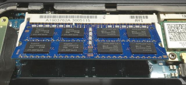VAIO Sシリーズのメモリの取り替え
