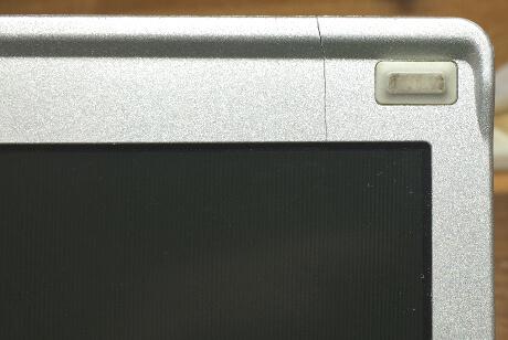 レッツノートS9のジャンクでモニター枠にもヒビ割れ