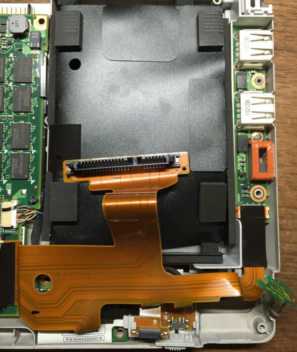 レッツノートCF-R9のHDDを交換する