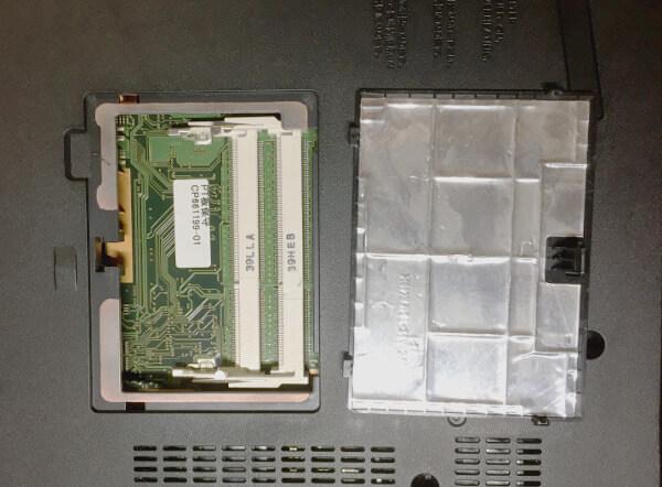 Fujitsu LIFEBOOK「A574/H」のメモリ
