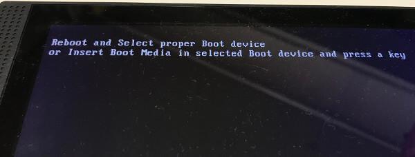 自作パソコンでインストール画面を表示