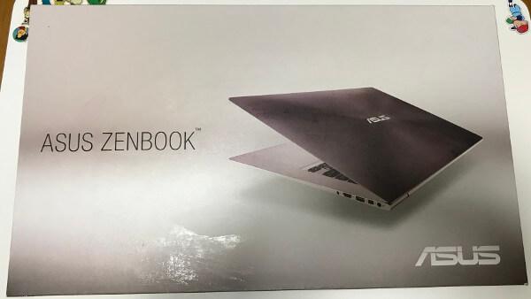 ZENBOOKのUX303Uの箱