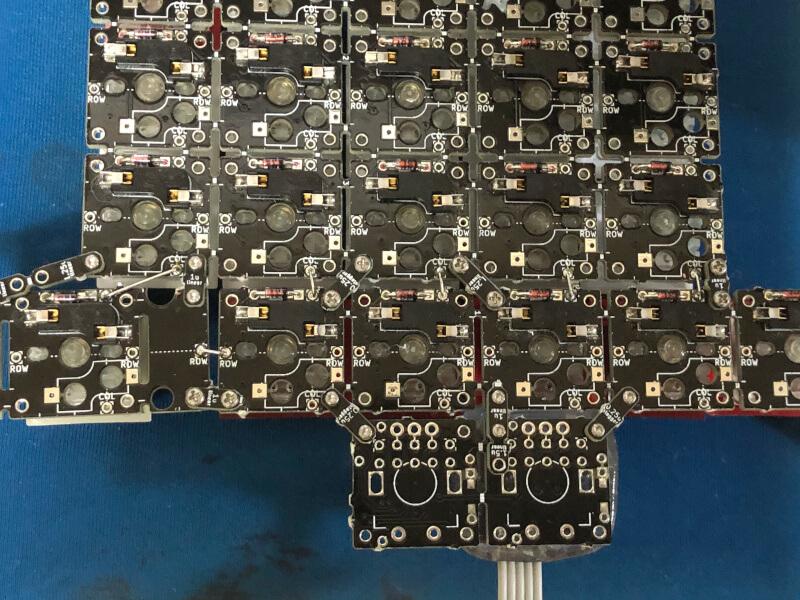 トラックボール付き自作キーボードのテスト機をsu120で作る(1)